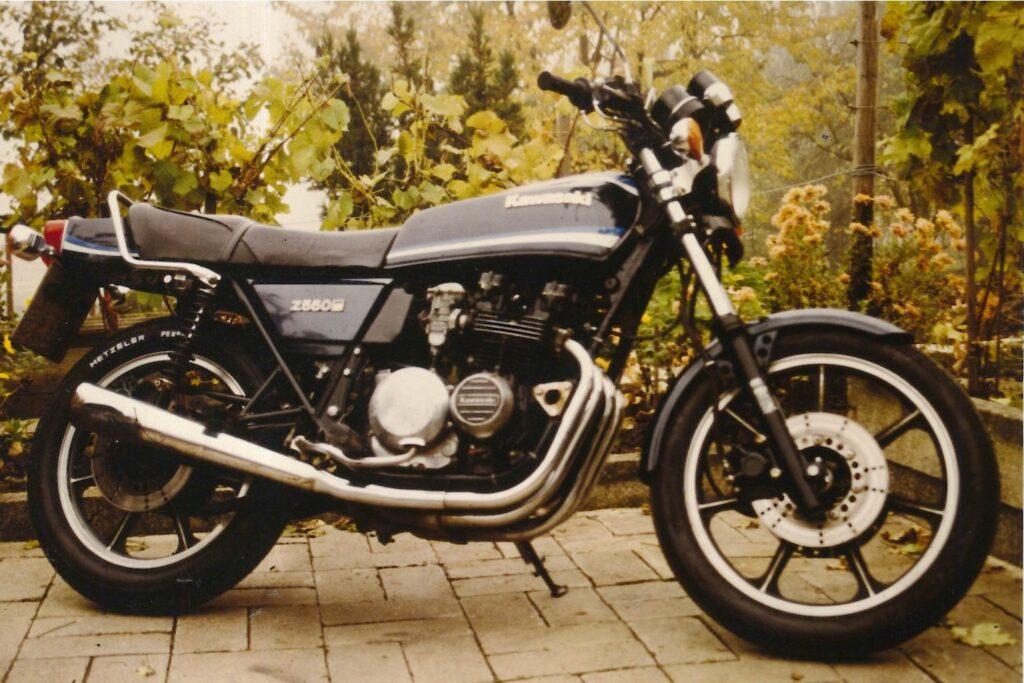 Kawasaki Z 550 B