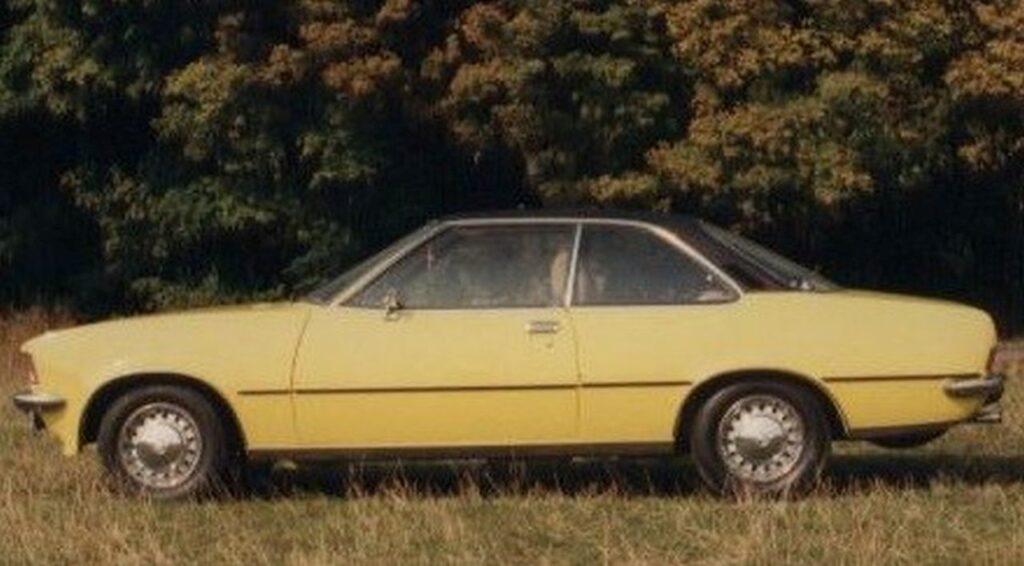 Opel Rekord D Coupé 1.7 S